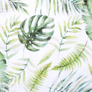 XXL Tuch Musselin (Watercolor Jungle)