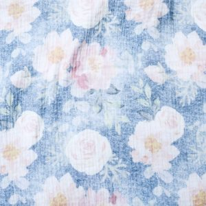 XXL Tuch Musselin (Floral Jeans)