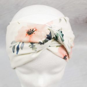 "Turban Haarband ""El Turbante"" (Pastel Flowers)"