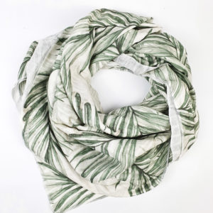 XXL Tuch Bio-Musselin (Palm Leaves)
